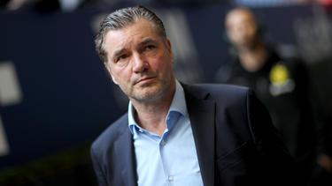 BVB-Sportdirektor Michael Zorc war mit den Aussagen von Friedhelm Funkel nicht einverstanden