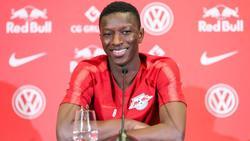 Der verletzte Neu-Leipziger Amadou Haidara sieht sich auf einem guten Weg