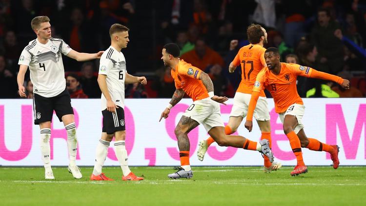Deutschland besiegte die Niederlande in der EM-Qualifikation