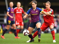 Vicky Losada es una de las centrocampistas del Barcelona. (Foto: Getty)