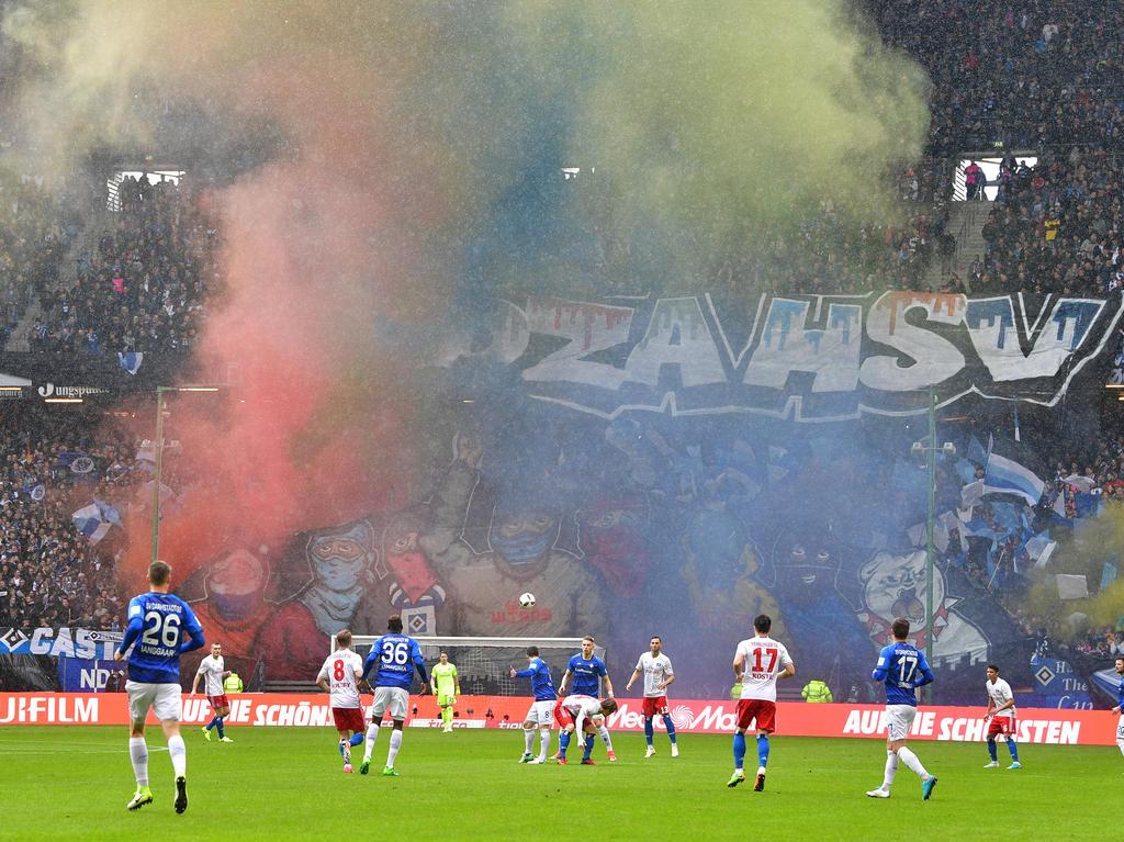Dem Hamburger SV droht ein Geisterspiel