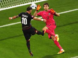 El internacional con Albania disputó la pasada Eurocopa de Francia-2016. (Foto: Getty)