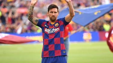 Lionel Messi fehlt wegen einer Wadenzerrung beim ersten Spiel