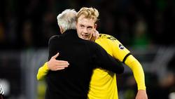 Ist Julian Brandt am Samstag für den BVB wieder einsatzbereit?