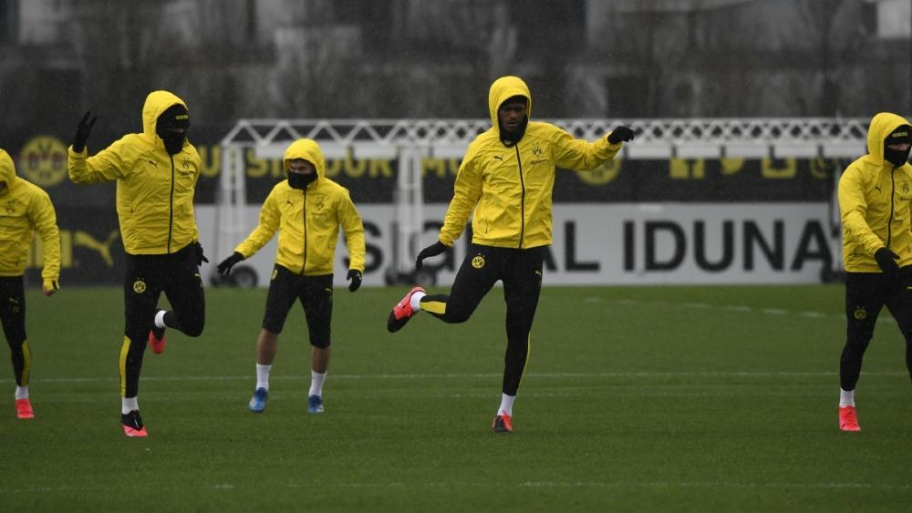 Trotz Corona keine Pause: Der BVB trainierte am Samstag