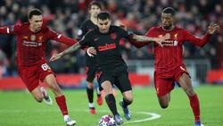 Liverpool und Atlético trafen sich im CL-Achtelfinale
