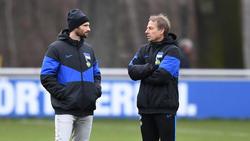Arbeiteten kurzzeitig zusammen bei Hertha BSC: Arne Friedrich (l.) und Jürgen Klinsmann