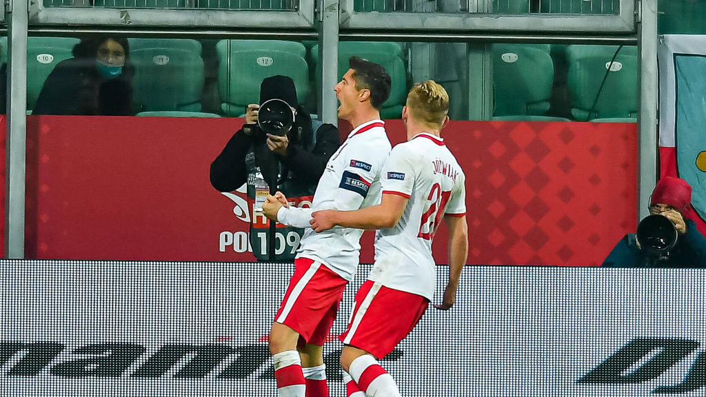 Robert Lewandowski vom FC Bayern brilliert für Polen