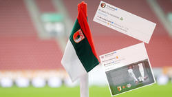 Augsburg und Leipzig lieferten sich einen Schlagabtausch auf Twitter