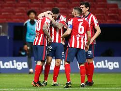 Atlético Madrid zieht in der Tabelle vorne weg