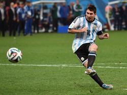 Lionel Messi traf zweimal gegen Hongkong