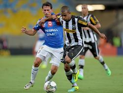 El Deportivo Quito en un partido de la Libertadores ante el Botafogo. (Foto: Getty)