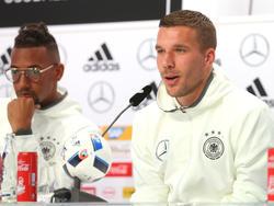 Lukas Podolski haute mal wieder einen Spruch raus