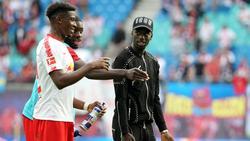 Nordi Mukiele (li.) und Jean-Kévin Augustin (re.) sollen für den RB-Zoff verantwortliche sein