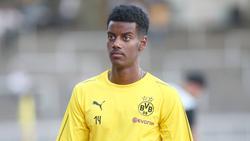 Alexander Isak konnte sich beim BVB bislang nicht durchsetzen