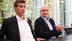 Stefan Kießling (l.) wird Funktionär bei Bayer Leverkusen