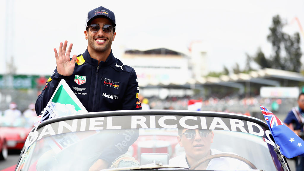 Auch Daniel Ricciardo darf ab der kommenden Saison kräftiger zubeißen