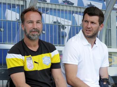 Roman Mählich (l.) und Andi Schicker sind bei Sturm Graz wieder vereint