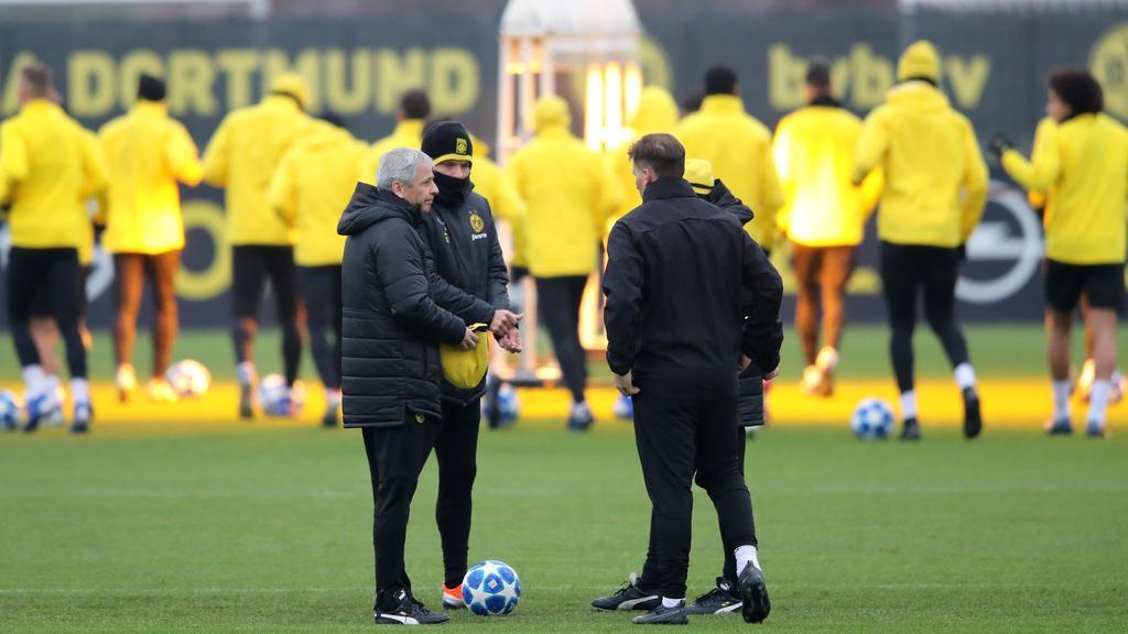 Lucien Favre bereitet sich mit dem BVB auf die Rückrunde vor