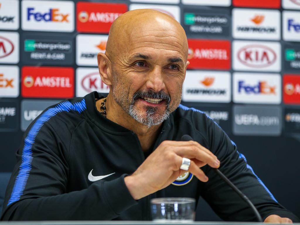 Luciano Spalletti durfte wenig über Rapid und musste viel über Mauro Icardi sprechen