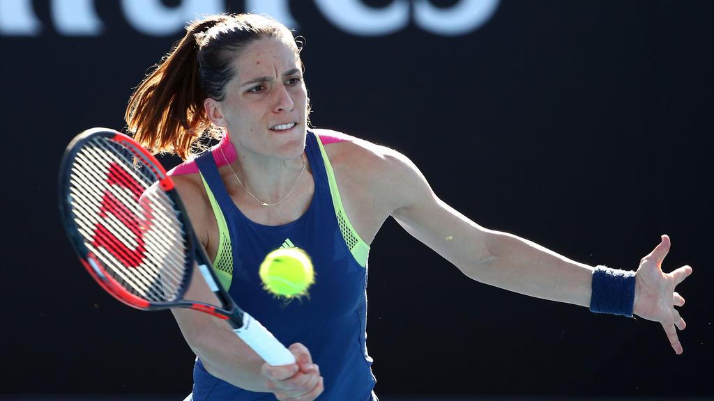 Andrea Petkovic hatte gegen Ana Bogdan keine Mühe