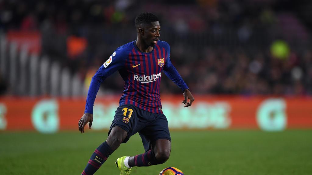 Ousmane Dembélé wurde gegen Olympique Lyon ausgewechselt