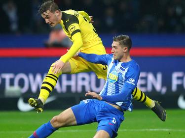 Dortmund siegte in Berlin mit 3:2