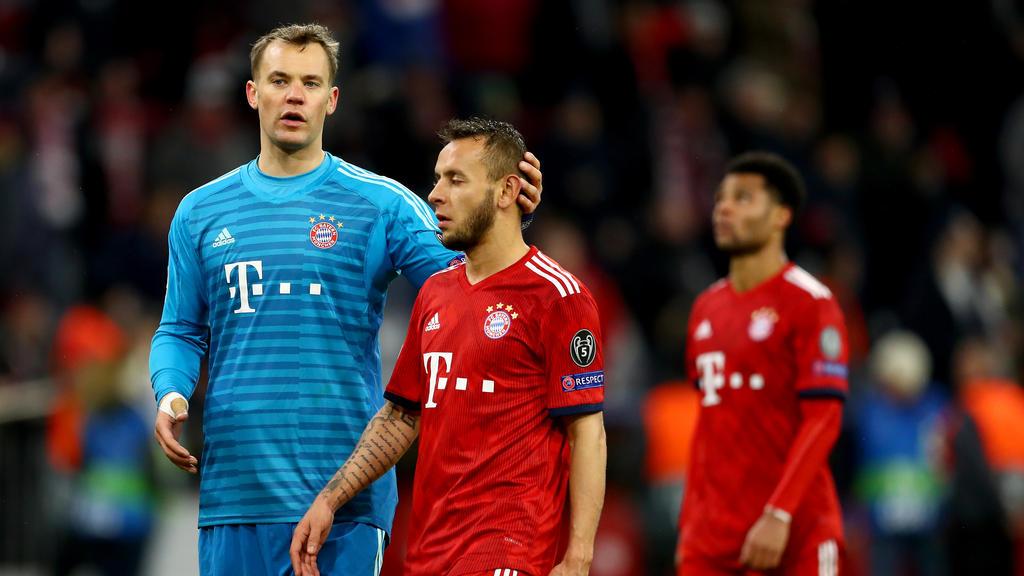 Der FC Bayern musste sich im Achtelfinale dem FC Liverpool geschlagen geben
