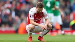 Shkodran Mustafi hat beim FC Arsenal einen schweren Stand