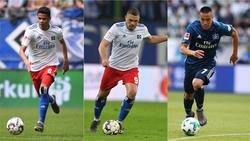 Die Zukunft von Douglas Santos, Kyriakos Papadopoulos und Bobby Wood beim HSV ist weiter offen