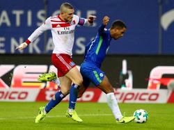 Viel Kampf, wenig Spielkultur - Hamburg und Wolfsburg trennen sich torlos