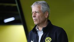 Lucien Favre steht nach schwachen Auftritten des BVB in der Kritik
