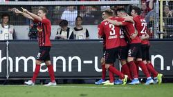 Der SC Freiburg schwebt weiter auf Wolke sieben
