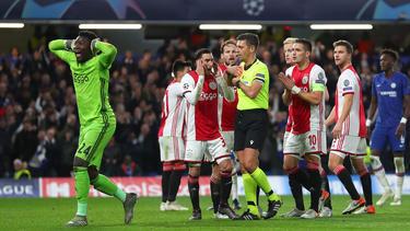 Zwischen dem FC Chelsea und Ajax Amsterdam ging es heftig zur Sache