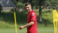 Lukas Podolski befindet sich in Quarantäne