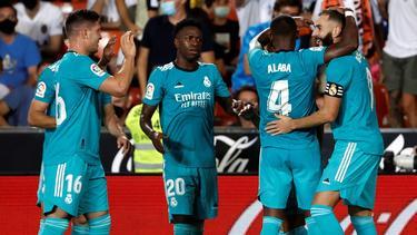 Real siegte in Valencia