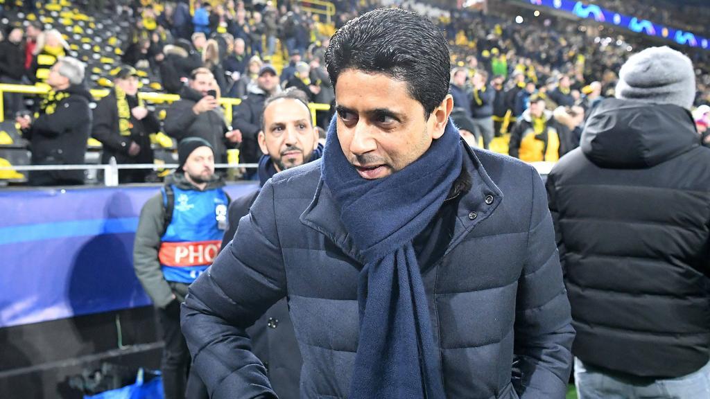 Nasser Al-Khelaifi, Präsident des französischen Fußballvereins Paris Saint-Germain
