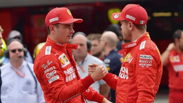 Handshake: Ist zwischen Leclerc und Vettel 2020 alles gut?