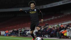 Steht nach langer Verletzungspause vor seinem Liga-Comeback für Manchester City: Leroy Sané