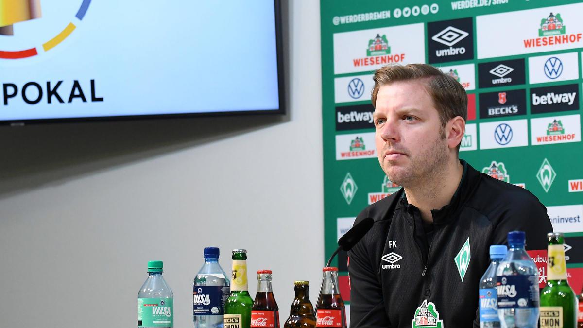 Florian Kohfeldt will mit dem SV Werder aus der Krise