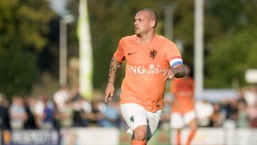 Wesley Sneijder denkt über ein Comeback nach