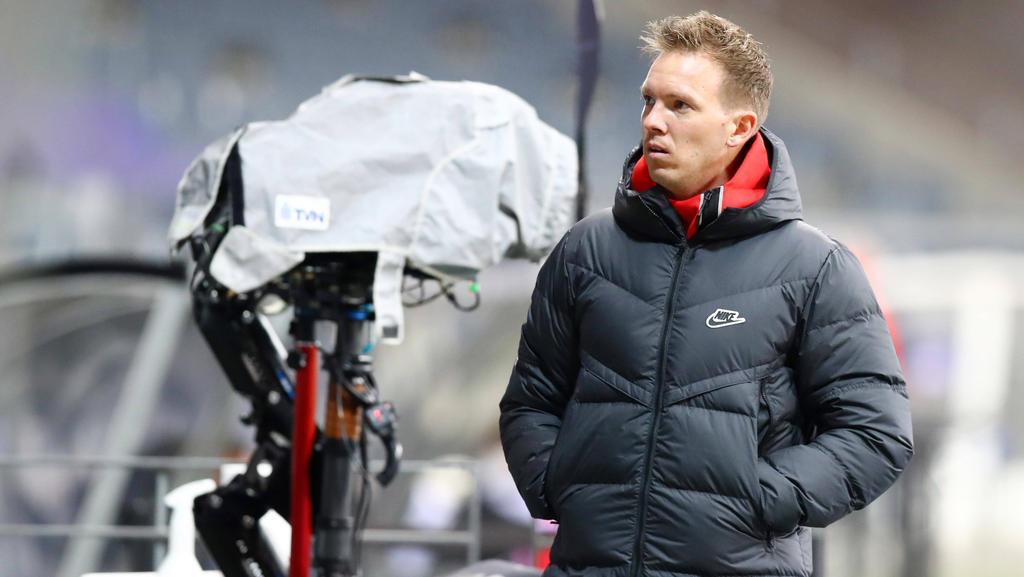 Für Julian Nagelsmann und RB Leipzig stehen wichtige Wochen an