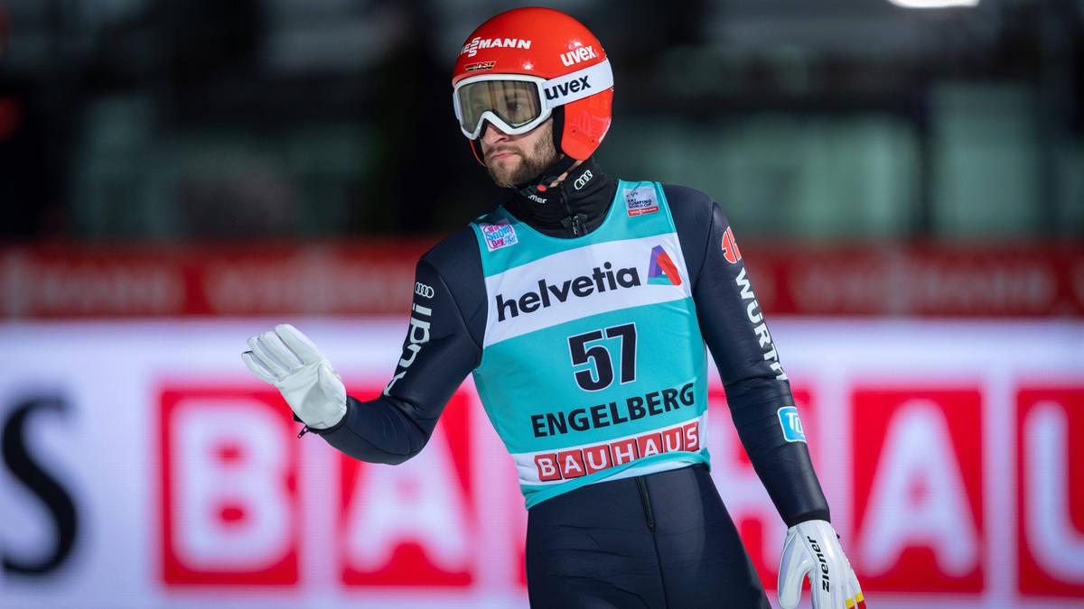 Markus Eisenbichler wurde in Engelberg Vierter