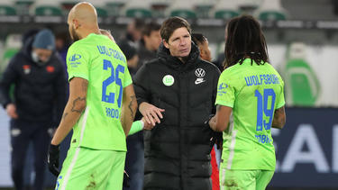 Wölfe-Coach Glasner (M.) will endlich wieder gewinnen