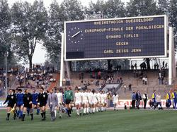 EC der Pokalsieger 1981: Tiflis - Jena