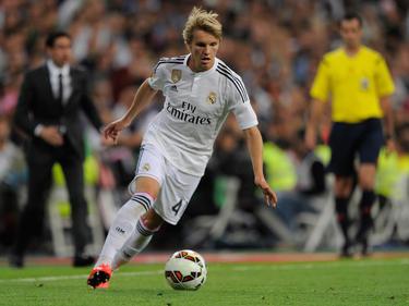 Martin Ødegaard volvió a su país natal con el Real Madrid ante el Valerenga. (Foto: Getty)