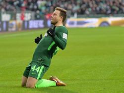 Philipp Bargfrede erzielte in dieser Saison ein Bundesliga-Tor