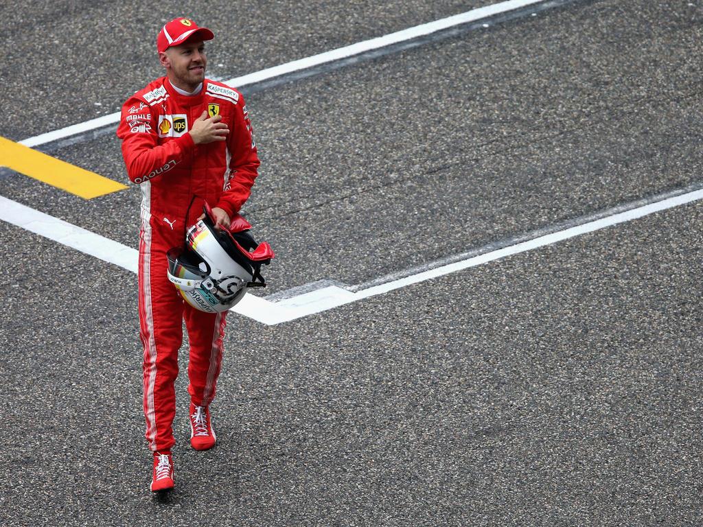 Sebastian Vettel hatte in Shanghai Pech