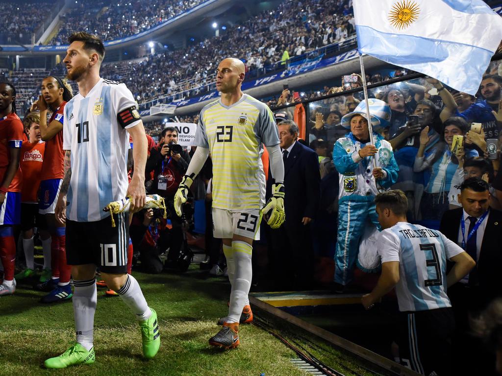 Kann Lionel Messi (l.) sein WM-Trauma besiegen?