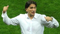 Zlatko Dalic feiert mit Kroatien Erfolg